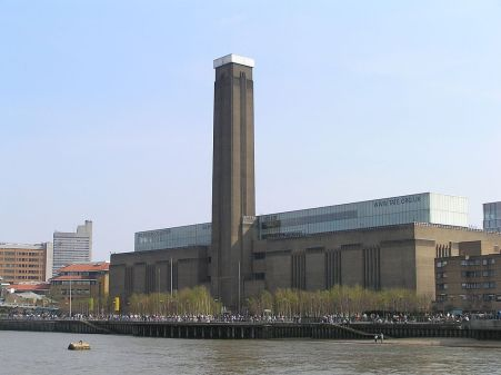 View of the Tate Modern from the Thames