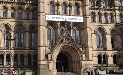 Picture of Manchester city hall