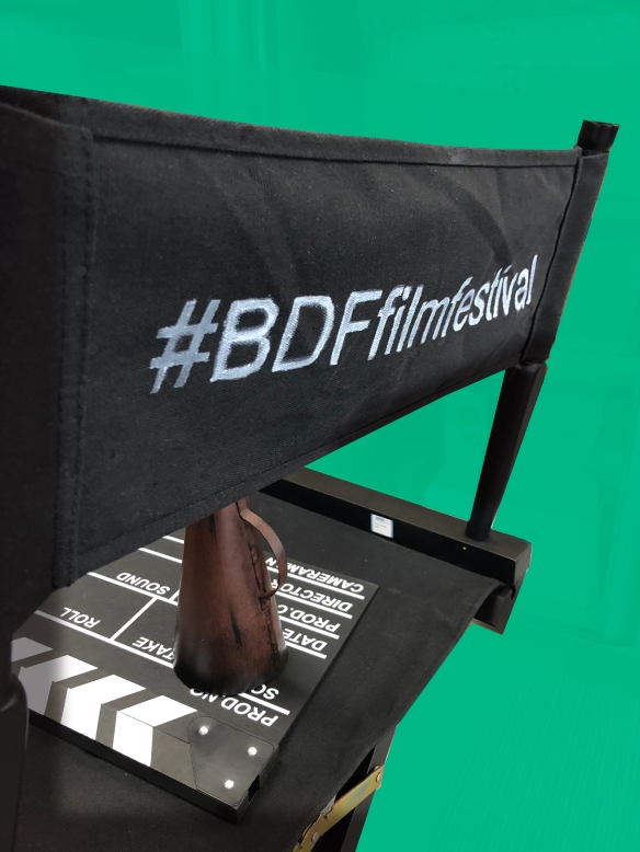 A picture of a director's chair