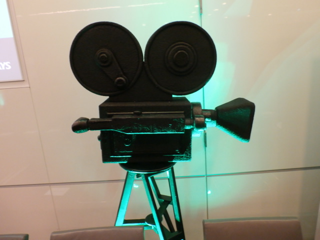 Camera prop at Business Disability Forum Film Festival 2018