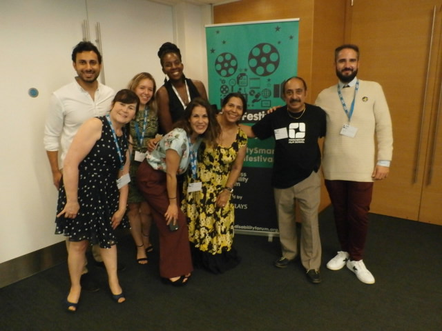 Winners at Business Disability Forum Film Festival 2018