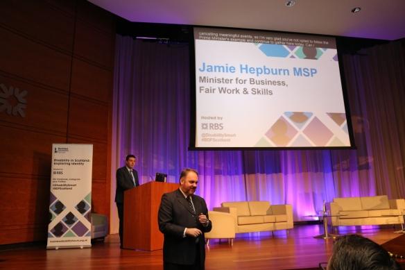 Scottish Government Minister Jamie Hepburn