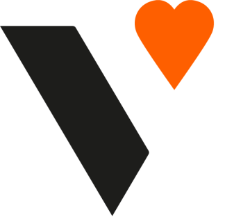 Valuable log - black stripe and an orange heart
